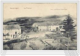 SAINT - LEGER ..-- FELDPOST . La France . 05.11.1918 . Vers Allemagne . CACHETS ALLEMANDS . Voir Verso . - Saint-Léger