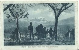 Chieti - Gran Sasso D'Italia Visto Dalla Cavallerizza - - Chieti
