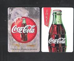 JOKER SPEELKAART - DOS D'UNE CARTE A JOUER - BIER - BIERRE  -   COCA-COLA (010) - Barajas De Naipe