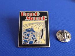 Pin's Salon Rétro Mobile - Course Automobile - Vintage - Bugatti Type 35C - Affiche Revue - 2500 Ex (JB56) - Other