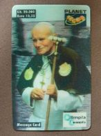 ITALY   -  POPE JOHN PAUL II - Personajes