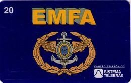 TARJETA TELEFONICA DE BRASIL (EMFA - 50 AÑOS ESTADO MAYOR DE LAS FUERZAS ARMADAS - 06/96) (105) - Armada