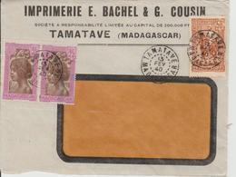 Enveloppe Madagascar 1940 - Madagascar (1960-...)