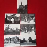 Jandrain - Eglise Saint-pierre - Monument - Forgeron - Presbytère - Aire De Jeux - Ecole Communale (7CPA) (D) - Orp-Jauche