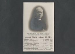Doodsprentje August Maria Alfons Roëll  (° 1870  -  † 1938) - Religión & Esoterismo
