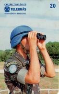 TARJETA TELEFONICA DE BRASIL (EJERCITO BRASILEÑO, OBSERVADOR MILITAR - ONU - CASCOS AZULES - 08/95) (113) - Armada