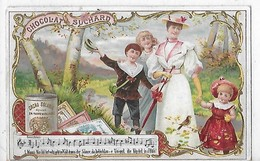 CHROMOS  CHOCOLAT SUCHARD FEMME ET 3 ENFANTS    N 75 - Suchard