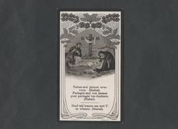 Doodsprentje Maria Theresia Sidonia De Cuyper  (° 1884  -  † 1914) - Religión & Esoterismo