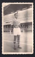 REAL PHOTO POSTCARD PORTUGAL MOÇAMBIQE MOZAMBIQUE CLUBE FERROVIÁRIO DA BEIRA FUTEBOL FOOTBALL SOCCER 1954 - Mozambique