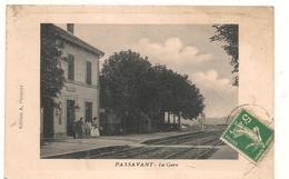 Passavant - La Gare  -  CPA ° - France