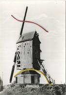 Leisele  : Molen Gijverinkhove 1746    : Groot Formaat 15 X 10.5 Cm  :  Windmolen - België