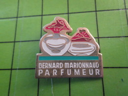 1018B Pin's Pins / Rare Et De Belle Qualité / THEME PARFUMS : BERNARD MARIONNAUD PARFUMEUR - Perfume