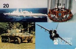 TARJETA TELEFONICA DE BRASIL (COMISION DEL SERVICIO MILITAR, COSEMI/EMFA - 09/97) (118) - Armada