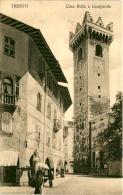 Trento - Casa Rella E Campanile * 17. 6. 1910 - Trento