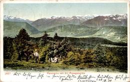 Panorama Von Der Penegalspitze (2657) * 25. 8. 1909 - Unclassified
