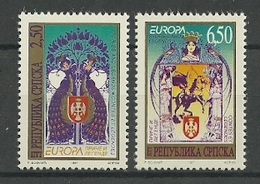 1997 Bosnia Herzegovina (Serbian Post) Europa: Tales And Legends Set (** / MNH / UMM) - Europa-CEPT