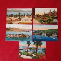 Lago Maggiore - Stresa Borromeo - Isola Bella  (5 Postcards) - Italia