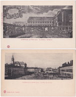 54. LUNEVILLE Au XVIIIe Siècle. 2 Cartes - Luneville