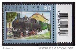 2011 Austria /Österreich - Hystorical Dampf / Steam Locomotives - BBÖ Reihe 378 1v Paper -MNH** MiNr. 2947 - 1945-.... 2. Republik