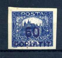 1922-26 CECOSLOVACCHIA TASSE N.23 * - Segnatasse