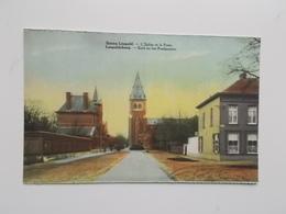 Leopoldsburg  Kerk En Het Postkantoor - Leopoldsburg