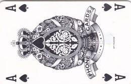 Czech Rep. C189A, 16/04.97, Ace Of Spades, GEM1A (Symmetric Black), 2 Scans. - Czech Republic