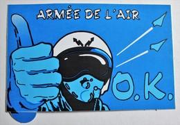 Autocollant Armée De L'air Pilote - Army & War