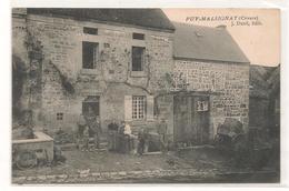 Puy Malsignat - Debit De Tabac - TOP  CPA - RARE -  -  CPA ° - Autres Communes