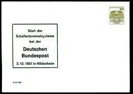 Bund PU254 D2/001 SCHALTERTERMINALSYSTEME Hildesheim 1987 - Post