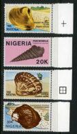 Nigeria 1987 - MNH** - Coquillages - Michel Nr. 499-502 Série Complète (wan083) - Nigeria (1961-...)