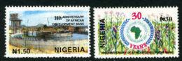 Nigeria 1994 - MNH** - Banques - Michel Nr. 638-639 Série Complète (wan095) - Nigeria (1961-...)