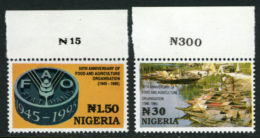 Nigeria 1995 - MNH** - FAO - Michel Nr. 658-659 Série Complète (wan098) - Nigeria (1961-...)
