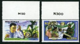Nigeria 1996 - MNH** - Sciences - Michel Nr. 664-665 Série Complète (wan099) - Nigeria (1961-...)