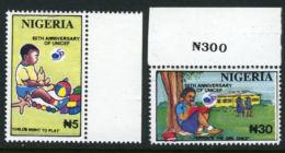 Nigeria 1996 - MNH** - UNICEF - Enfance - Michel Nr. 675-676 Série Complète (wan101) - Nigeria (1961-...)