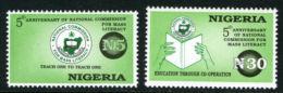 Nigeria 1996 - MNH** - éducation - Michel Nr. 677-678 Série Complète (wan102) - Nigeria (1961-...)