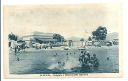 ALBENGA -  Spiaggia E Stabilimento Ingaunia - Savona