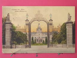 Visuel Pas Très Courant - Allemagne - Hanau Am Main - Schloss Philippsruhe - CPA 1913 - Scans Recto-verso - Hanau