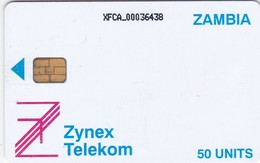 Zambia, ZAM-03, 50 Units, Definitive Card, 2 Scans. - Zambia