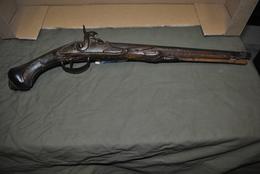 Rare Pistolet à Poudre Canon Long 53 Cm à Restaurer - Decorative Weapons