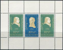 Suriname 1970. Michel Bl.#10 MNH/Luxe. Ludwig Van Beethoven (Ts27) - Musik