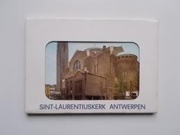 ANTWERPEN , Map Met 10 Losse Postkaarten  Sint-Laurentiuskerk - Antwerpen