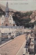 LE PONT ET L'EGLISE  1902 - Dinant