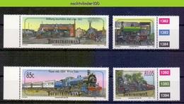 Ncf145 TRANSPORT TREINEN TRAIN ZUG STOOMLOKOMOTIEVEN STEAMERS LOCOMOTIVES EISENBAHN BOPHUTHATSWANA 1993 PF/MNH - Treinen