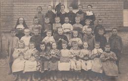 Rossignol  Tintigny  CARTE PHOTO  Ecole Des Soeurs 1908 - Tintigny
