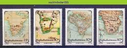 Ncf139 LANDKAARTEN AARDRIJKSKUNDE MAPS GEOGRAPHY BOPHUTHATSWANA 1991 PF/MNH - Geography