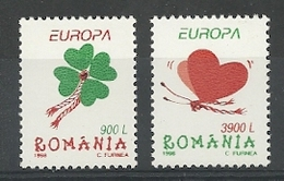 1998 Romania Europa: National Days And Festivals Set (** / MNH / UMM) - Europa-CEPT