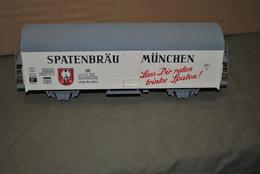 Rare Grand Wagon De Marchandise Bière Spaten De 24 Cm De Longueur De Marque LIMA - Modell-Eisenbahn