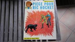 RIC HOCHET N°5 PIEGE POUR RIC HOCHET  TIBET DUCHATEAU - Ric Hochet