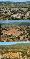 CPA 06 Alpes-Maritimes Mouans-Sartoux Vue Générale Panoramique Aérienne Esterel - Autres Communes