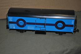 Rare Grand Wagon De Marchandise Transfesa Interfrigo  24 Cm De Longueur Marque Lima - Trains électriques